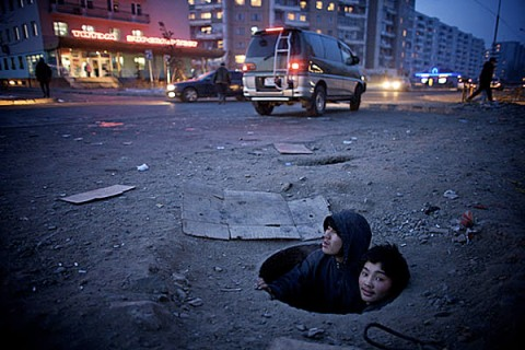 The coldest capital city in the world. Ulaan Baatar, Mongolia, 2008  Richard Wainwright