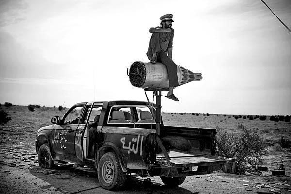 La guerra in Libia nello scatto di Fabio Bucciarelli